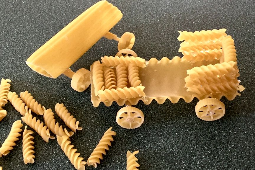 Girl Scout Pasta Derby