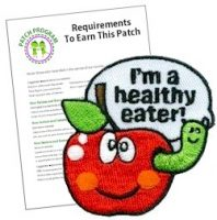 Healthy Eater Fun Patch