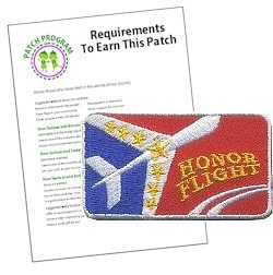 Honor Flight Scout Patch Program