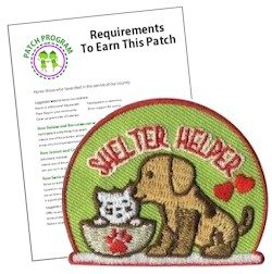 Shelter Helper Patch Program®