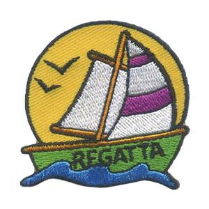 Girl Scout Regatta Fun Patch