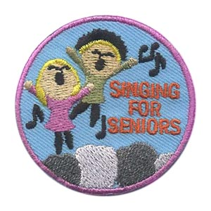 Singing for Seniors Patch