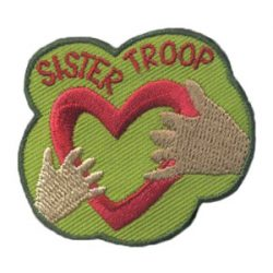 Girl Scout Sister Troop Patch