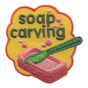 Girl Scout Soap Carving Patch