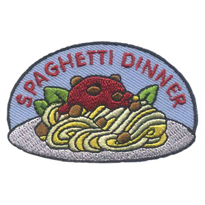 Girl Scout Spaghetti Dinner Patch