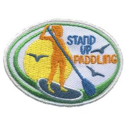 Girl Scout Stand Up Paddling Patch