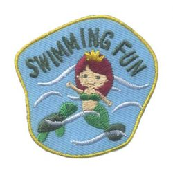 Girl Scout Swimming Fun Patch