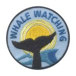 Girl Scout Whale Watching Patch