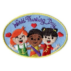 Girl Scout World Thinking Day Patch