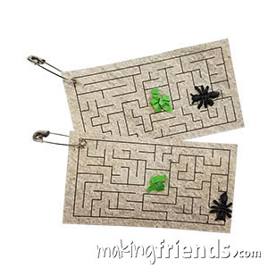 Ants on a Maze Science Girl Scout Friendship SWAP Kit via @gsleader411