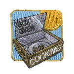 Girl Scout Box Oven Cooking Patch