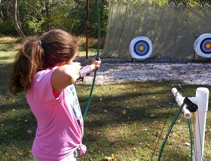 Girl Scouts and Archery.