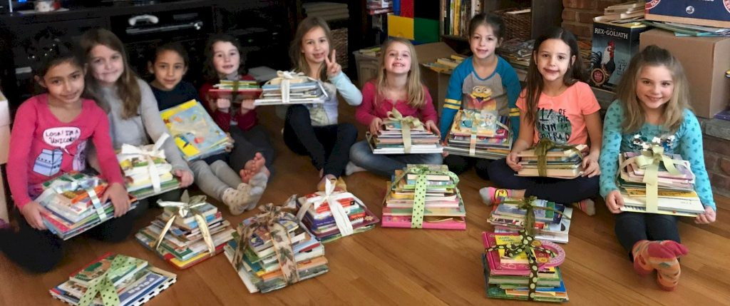 Daisy Girl Scout Book Drive