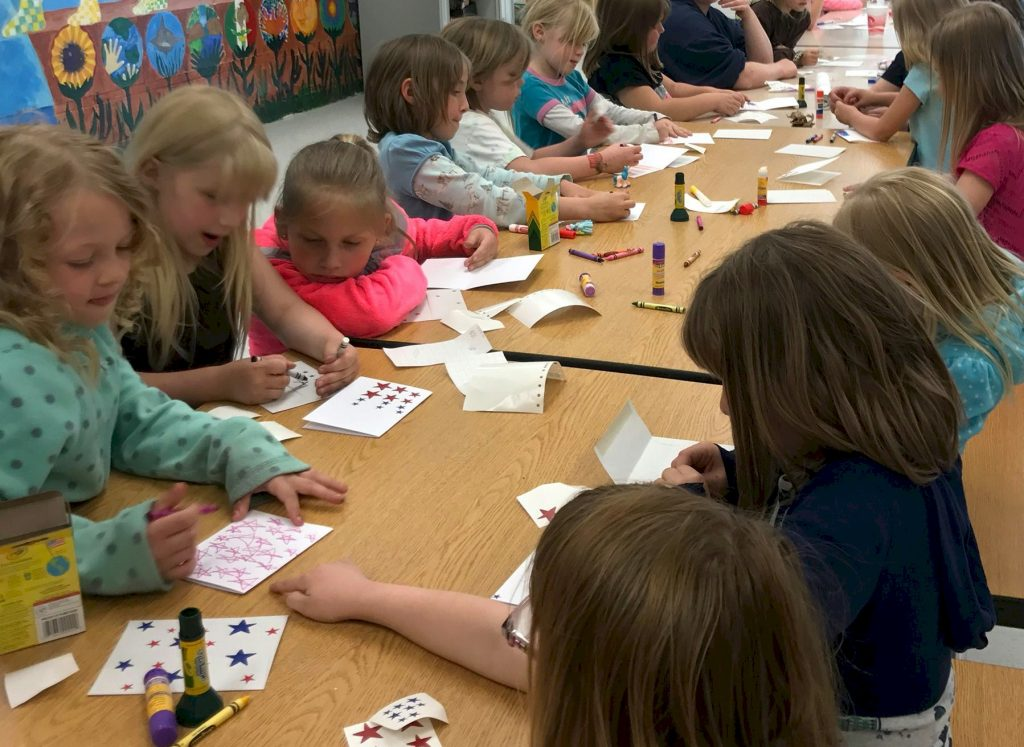 Brownie Girl Scout Card Making