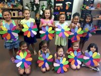 Earn a craft patch like Daisy Troop 6424 from Rancho Cucamonga, CA. They made large wooden daisies that each girl got to personalize with their name on it. They took their creation home and hung them up in their bedrooms.