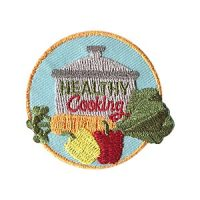 Girl Scout Healthy Cooking Patch for Fresh Fruit and Vegetable Month