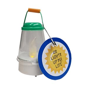Girl Scout Lantern SWAP Kit