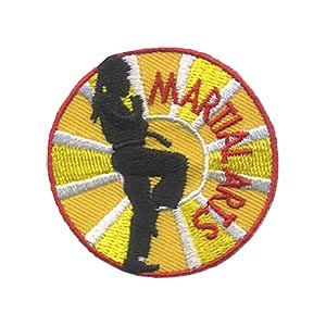 Girl Scouts Martial Arts Patch