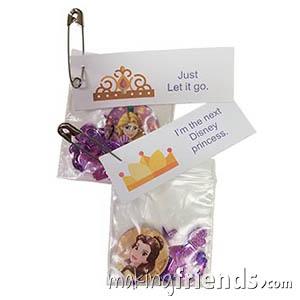 Princess Girl Scout Friendship SWAP Kit via @gsleader411