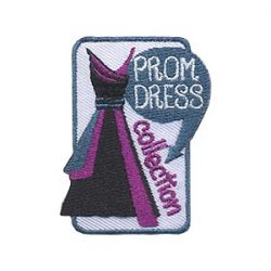 Girl Scout Prom Dress Collection Patch