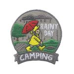 Girl Scouts Rainy Day Camping Patch