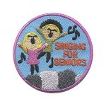 Girl Scout Singing for Seniors Patch