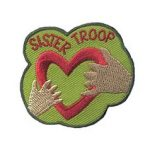 Girl Scouts Sister Troop Patch