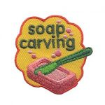Girl Scout Soap Carving Fun Patch