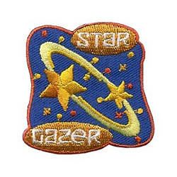 Girl Scout Star Lazer Fun Patch