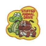 Girl Scout Stuffed Animal Drive Patch