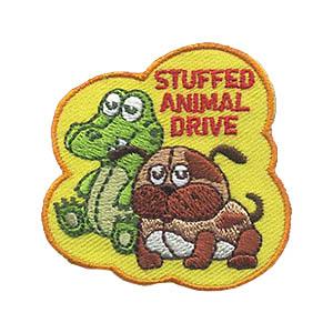 Girl Scout Stuffed Animal Drive Patch