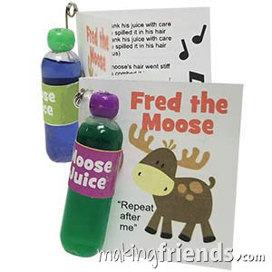 Fred the Moose Songbook Girl Scout Friendship SWAP Kit via @gsleader411
