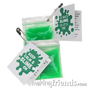Slime Girl Scout Friendship SWAP Kit via @gsleader411