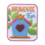 Girl Scout Bird House Fun Patch