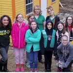 Cadette Girl Scouts Advocating for Turtles