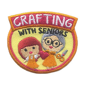 Crafting with Seniors Patch