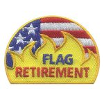 Girl Scout Flag Retirement Patch