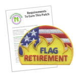 Girl Scout Flag Retirement Patch Program