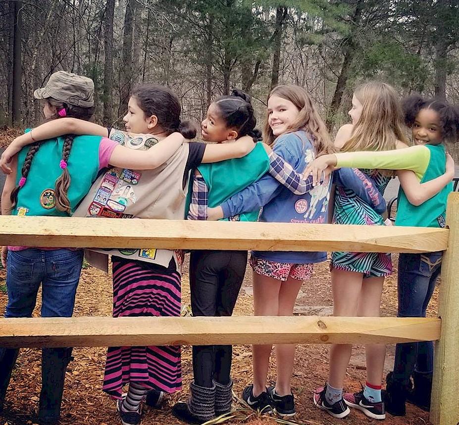 Girl Scout Friends