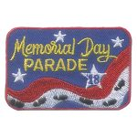 Girl Scout Memorial Day Parade Patch