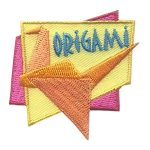 Girl Scout Origami Patch