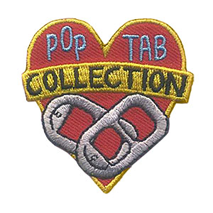 Girl Scout Pop Tab Collection Patch