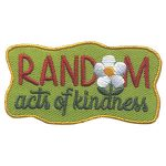 Girl Scout Random Acts of Kindness Patch