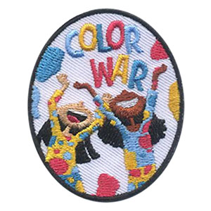 Girl Scouts Color War Patch
