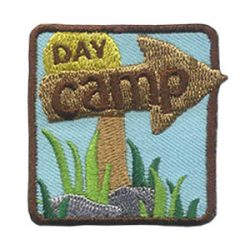 Girl Scout Day Camp Patch