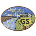 Girl Scout Highway Clean Up Patch