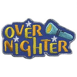 Girl Scout Over Nighter Patch