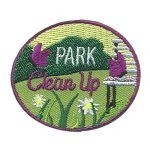 Girl Scout Park Clean Up Patch