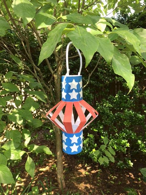 Patriotic Lantern Makingfriendsmakingfriends
