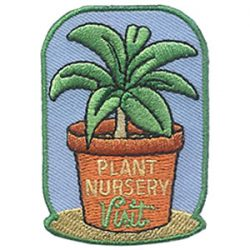 Girl Scout Plant Nursery Visit Patch